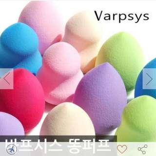 (✈少量現貨+預購)Varpsys美妝蛋