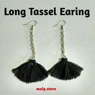 Long Tassel Earing