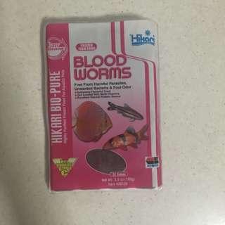 Hikari frozen blood worm( reserved )