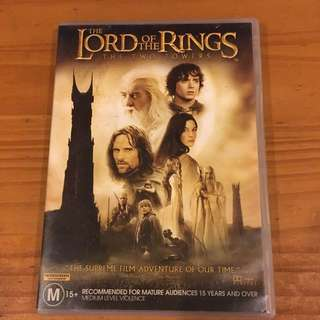 Lord Of The Rings: Two Towers DVD