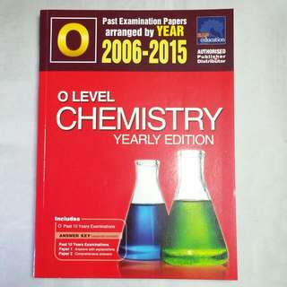 O Level | Chemistry TYS Yearly 2005-2015