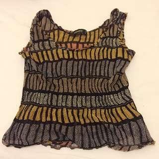 CIVIDINI 精品 古著 Vintage 復古精緻短上衣