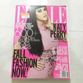 ELLE MAGAZINE ( KATY PERRY COVER )