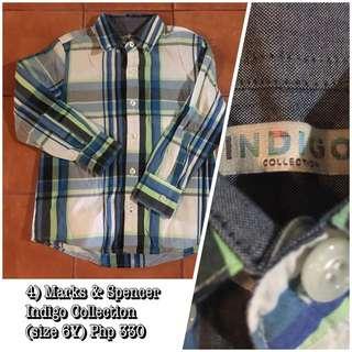 Marks & Spencer Indigo Collection Longsleeved Polo