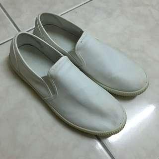 無印良品Muji白色休閒鞋