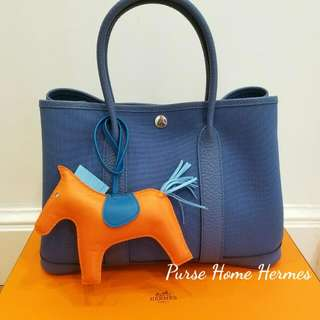 Hermes Garden Party 30 Canvas