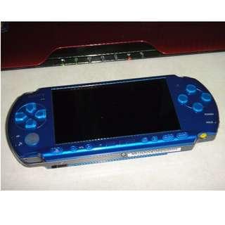 PSP 主機 (另外還有3千型 PSP3007 、2千型 PSP2007、1千型 PSP-1007) 白藍紅黑都有 歡迎詢問