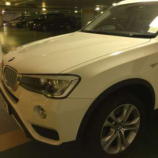 Latest Model BMW X3: Great Condition
