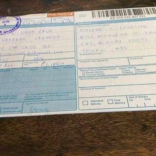 Shipped to Taiwan
