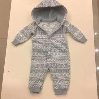 Carter's(2件) 3~6個月嬰兒連身服