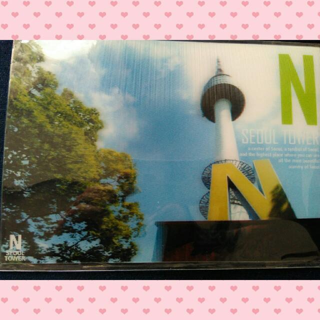3D Postcard Seoul N Tower