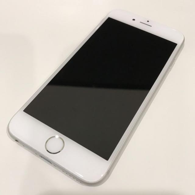 iPhone 6 128g 銀色 IPhone6