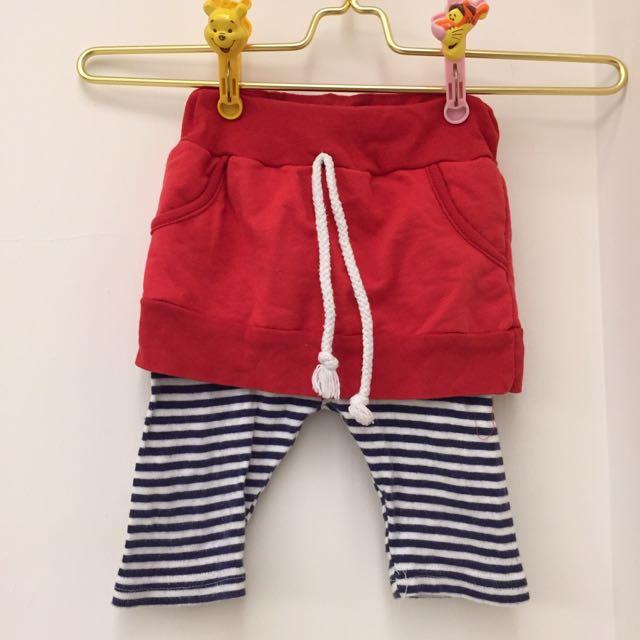 ❤️小孩假兩件褲裙❤️