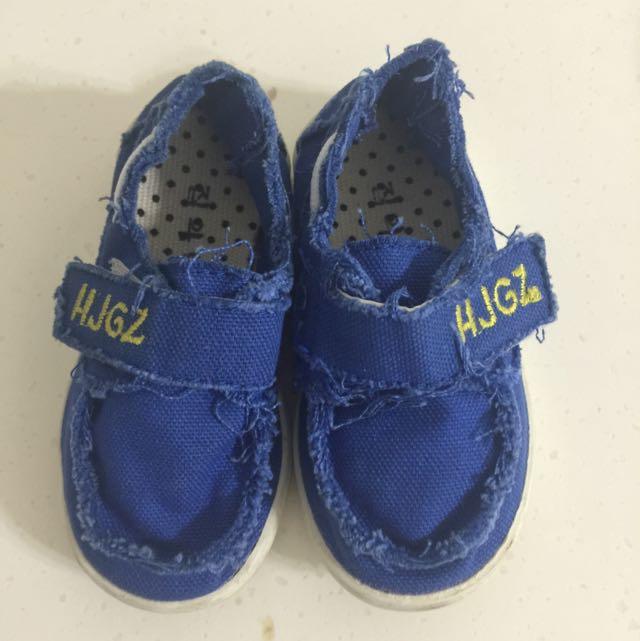 韓版孩童牛仔布鞋👟