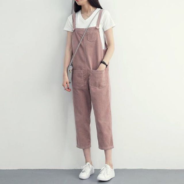 517928b5342 sold‼ 2 FOR  20 ‼️BN PINK COTTON JUMPSUIT