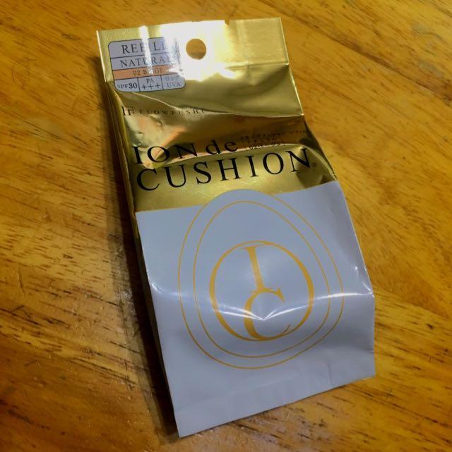 【日本帶回】 FlowFushi Ion de Cushion 水滴氣墊粉底 補充包