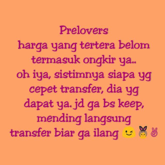 👆✌ PRELOVERS PRELOVED ✌👆