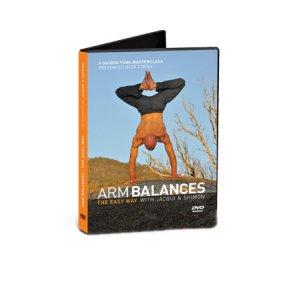 Arm Balances Yoga DVD x 2