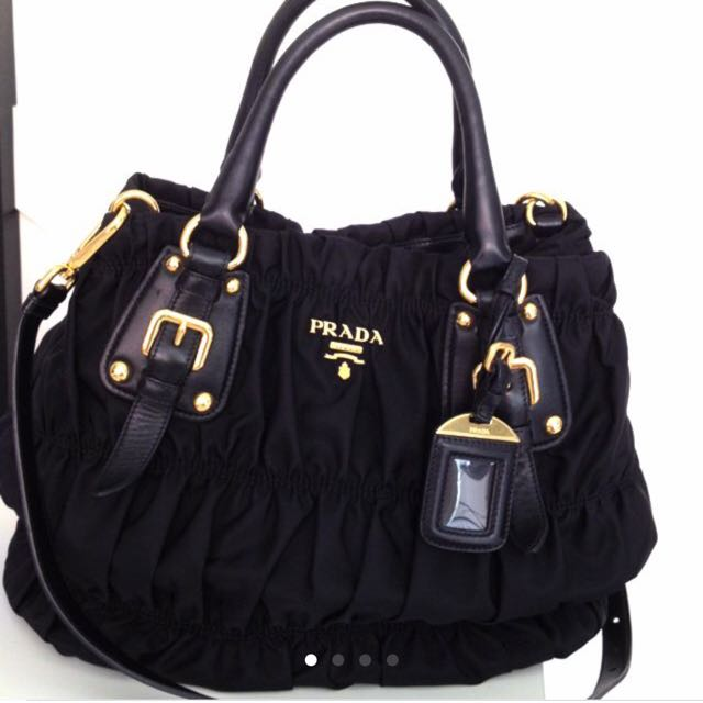 b1e32a1bf40027 ... real reserved authentic preloved in good condition prada tessuto gaufre  bag bn 1792 luxury bags wallets