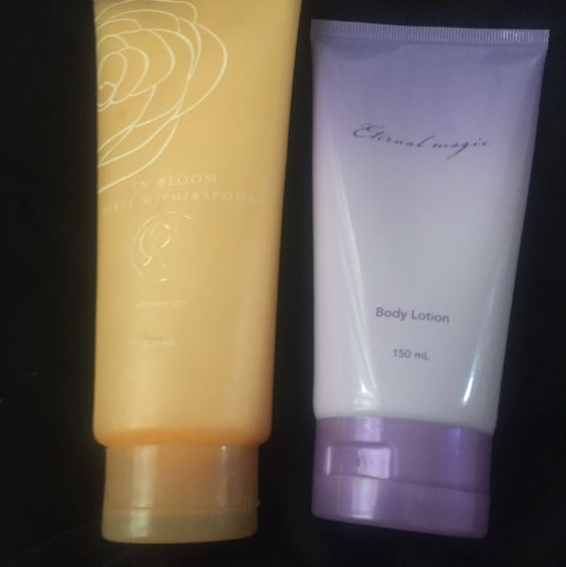 Avon Shower Gel And Body Lotion