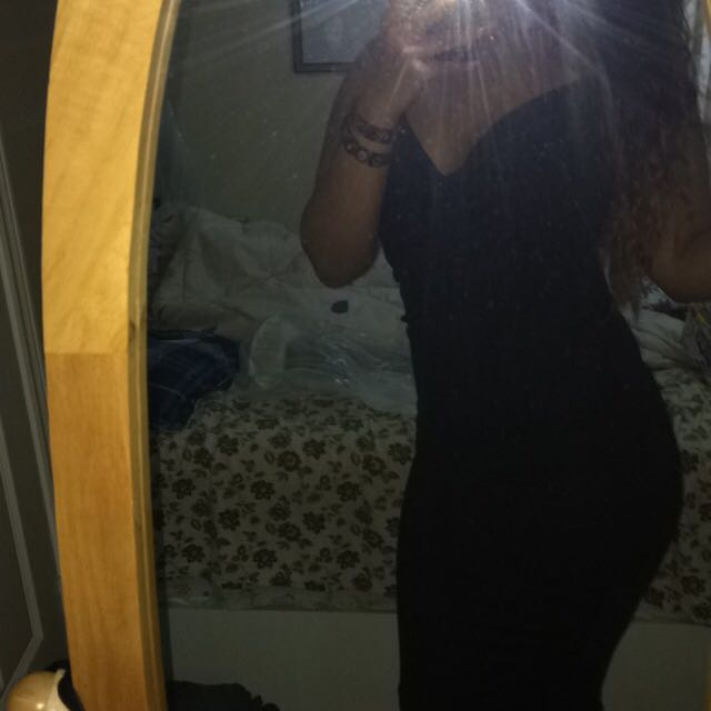 Black Fitted Dress