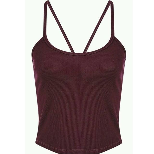 BNWT Bardot Boogie Down Cami - Grape