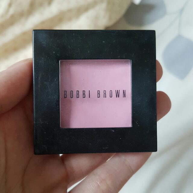 bobbi brown blush on shade nude pink
