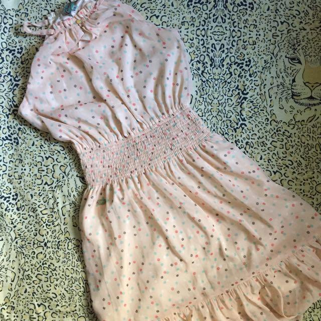 Candie's flowy dress