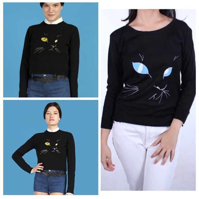 Cat - Kucing Sweater