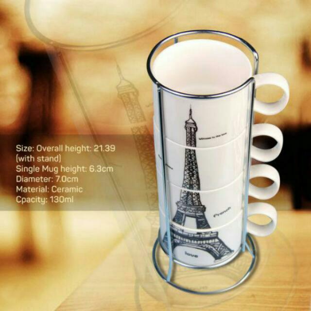 Ceramic Mug Eiffel Tower
