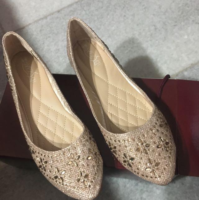 Champagne Flatshoes