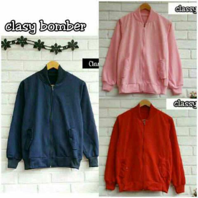 Classy Bomber Simple N Casual