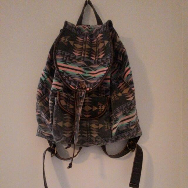 Colorful Tribal Backpack