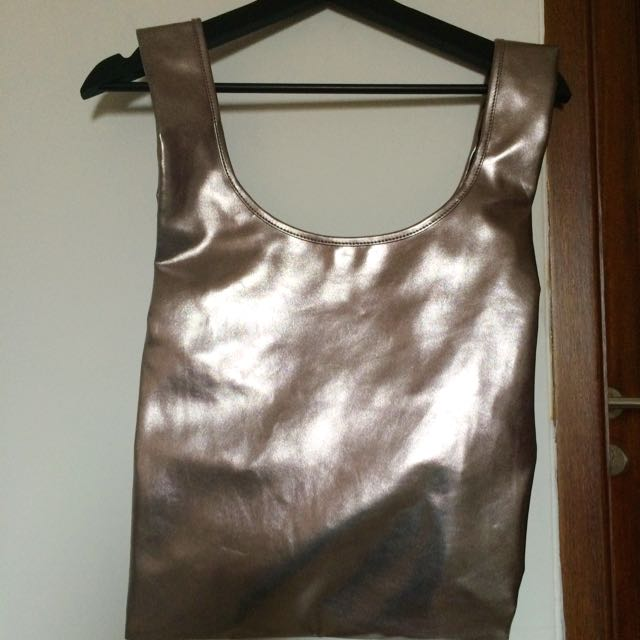 Cottonink Metallic Bag