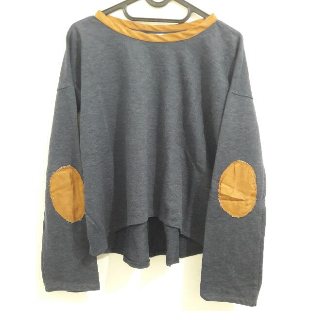 Denim Sweater By PINX