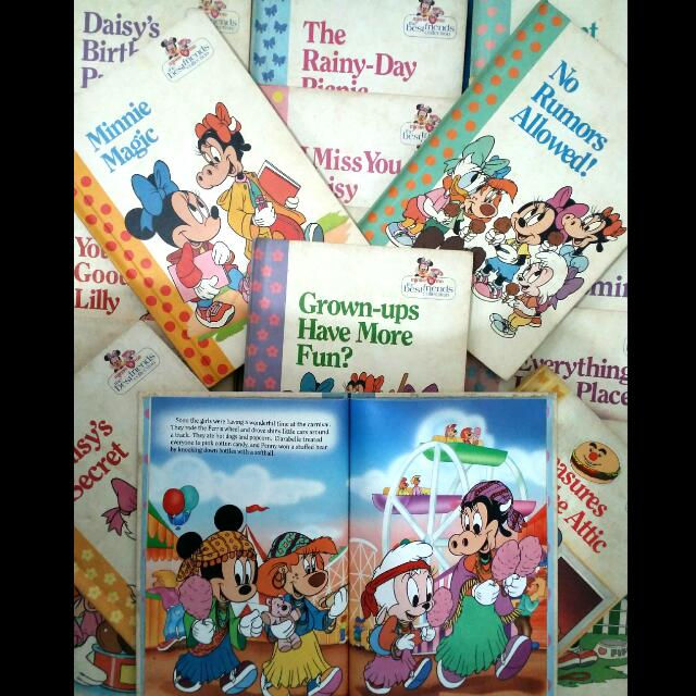 Disney Books MinnieN'MeCollection