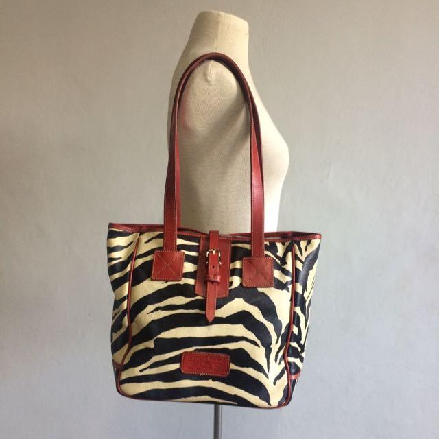 Dooney & Bourke Animal Print Leather Bag