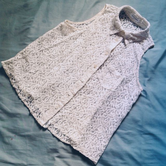 EQUIPMENT Lace Top