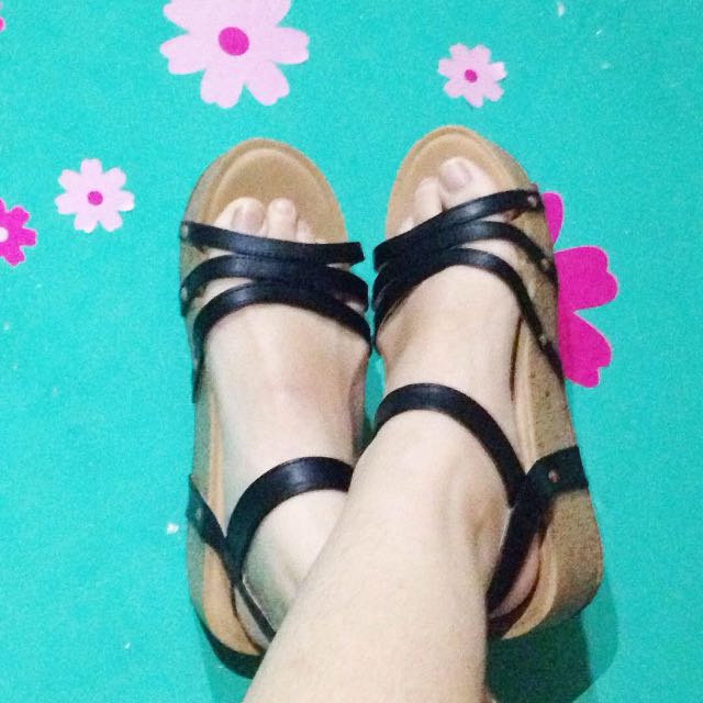 FLADEO WEDGES SHOES MURAH