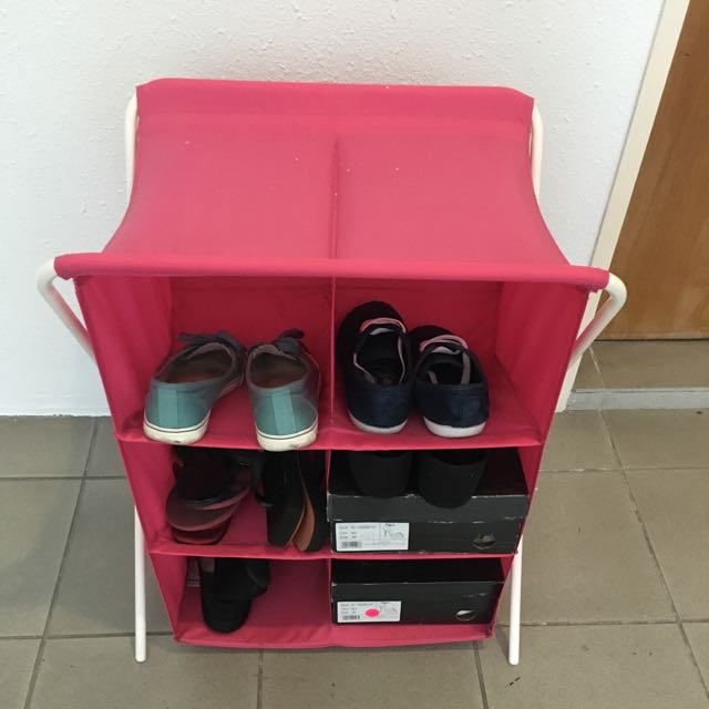 Foldable Shoe Rack