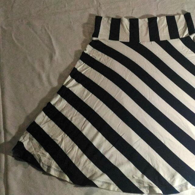 Gap Stripe Skirt