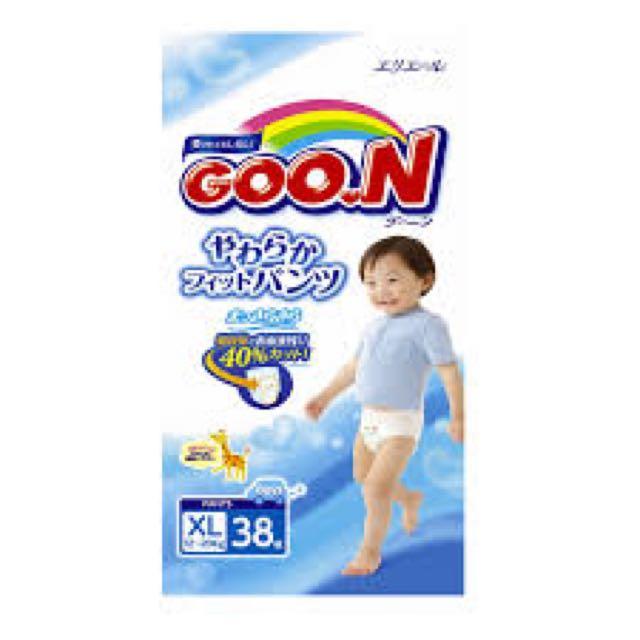 GOON Japan Version XL Pants (Boys) X 2 Packs