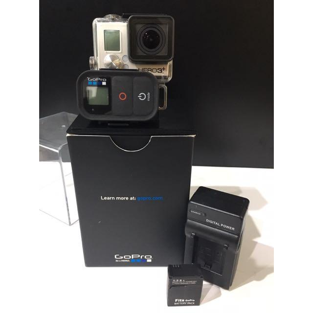 GoPro HERO3+ Black Edition旗艦黑色版(含配備)