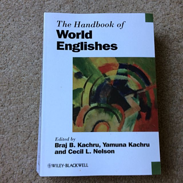 HANDBOOK OF WORLD ENGLISHES