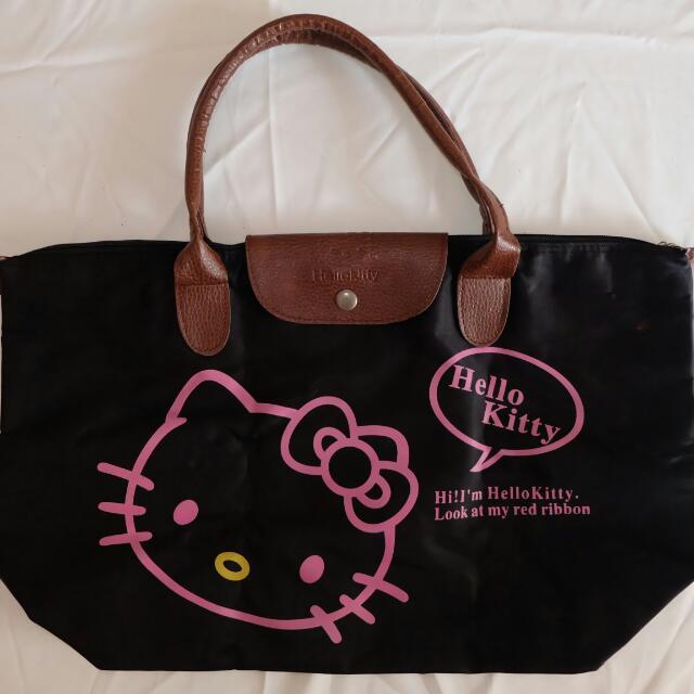 Hello Kitty Black Longchamp (kw)