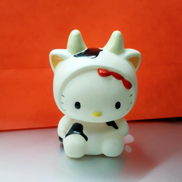 Hello Kitty Chinese Zodiac Ox Piggy Bank, Everything Else on