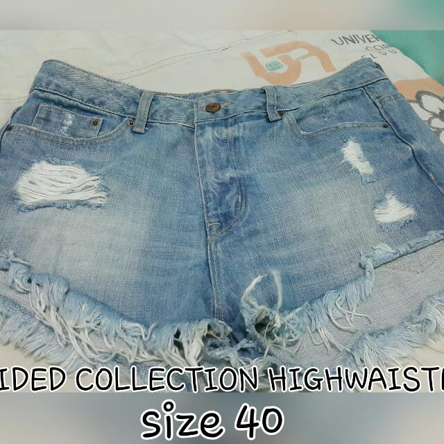 H&M DIVIDED COLLECTION HIGHWAISTED SHORT