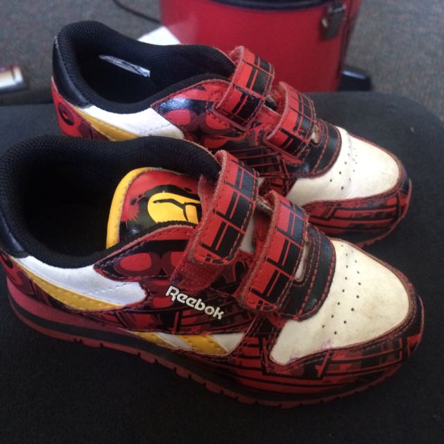 Iron Man Reebok Shoes