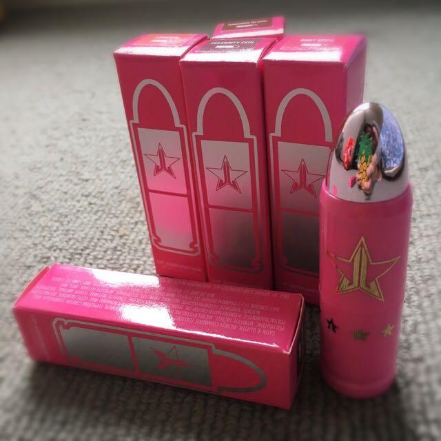 Jeffree Star Lip Ammunition & Velour Liquid Lipstick