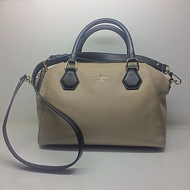 Kate Spade Beige Crossbody Bag